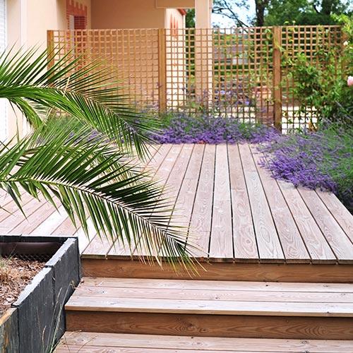 Pose Revetement Sol Exterieur Jardin Pres De Cholet
